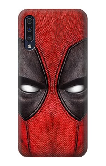 Printed Deadpool Mask Samsung Galaxy A50 Case