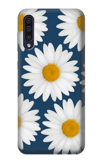 Printed Daisy Blue Samsung Galaxy A50 Case