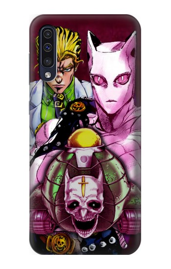 Printed Jojo Bizarre Adventure Kira Yoshikage Killer Queen Samsung Galaxy A50 Case