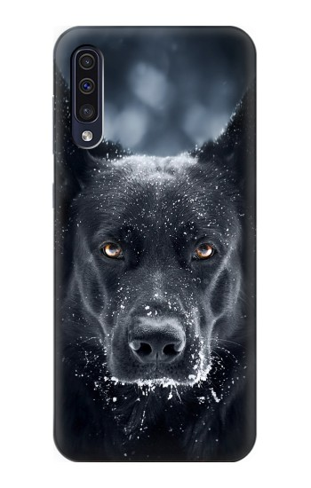 Printed German Shepherd Black Dog Samsung Galaxy A50 Case
