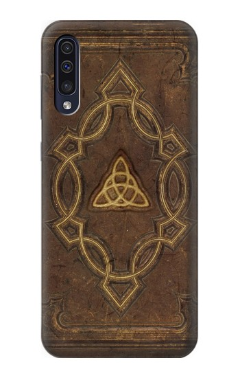 Printed Spell Book Cover Samsung Galaxy A50 Case