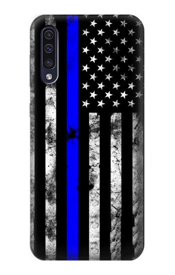 Printed Thin Blue Line USA Samsung Galaxy A50 Case