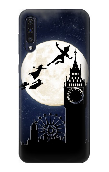 Printed Peter Pan Fly Fullmoon Night Samsung Galaxy A50 Case