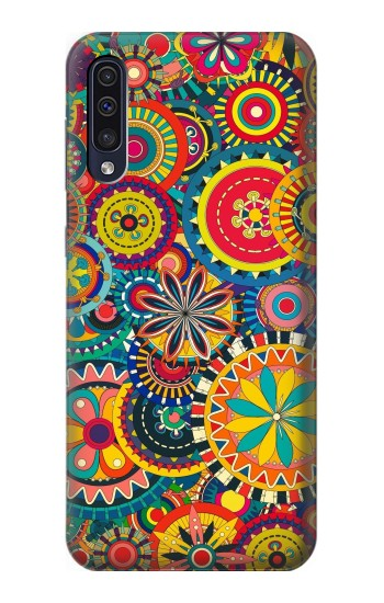 Printed Colorful Pattern Samsung Galaxy A50 Case