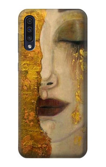 Printed Gustav Klimt Golden Tears Samsung Galaxy A50 Case