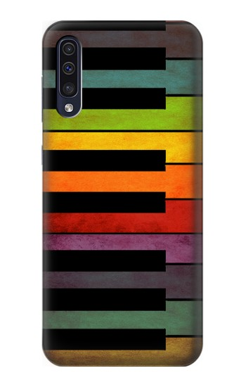 Printed Colorful Piano Samsung Galaxy A50 Case