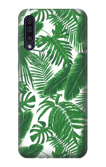 Printed Paper Palm Monstera Samsung Galaxy A50 Case