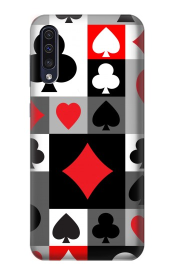 Printed Poker Card Suit Samsung Galaxy A50 Case