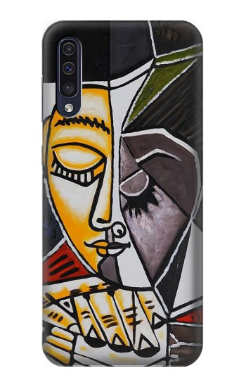 Printed Pablo Picasso Painting Samsung Galaxy A50 Case