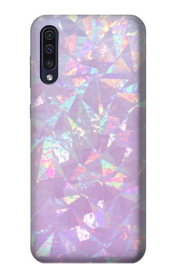 Printed Iridescent Holographic Photo Printed Samsung Galaxy A50 Case