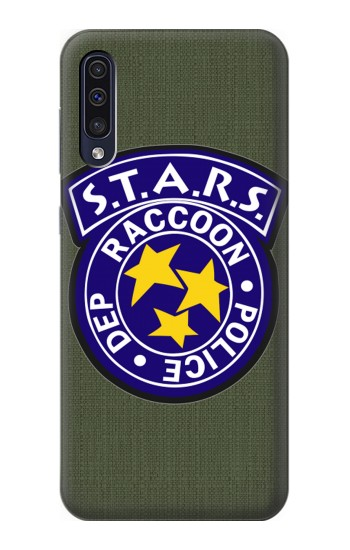 Printed Resident Evil Star Badge Chris Outfit Samsung Galaxy A50 Case