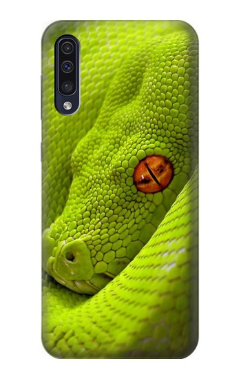 Printed Green Snake Samsung Galaxy A70 Case