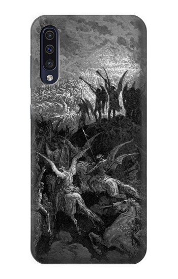 Printed Gustave Dore Paradise Lost Samsung Galaxy A70 Case