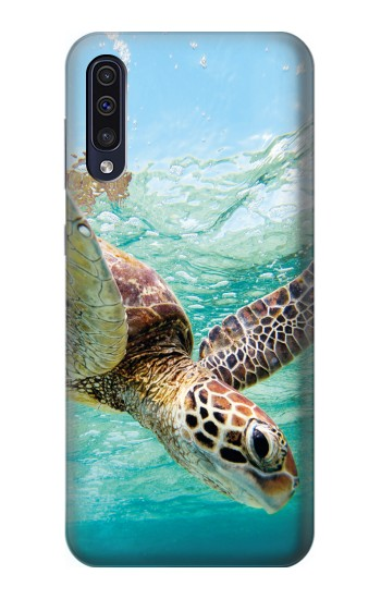 Printed Ocean Sea Turtle Samsung Galaxy A70 Case