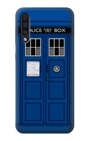 Printed Doctor Who Tardis Samsung Galaxy A70 Case
