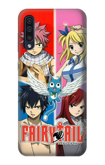 Printed Fairy Tail Member Samsung Galaxy A70 Case