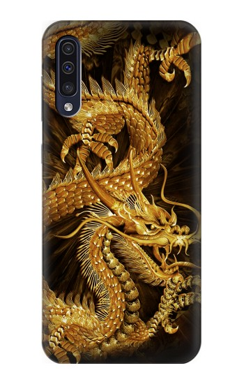 Printed Chinese Gold Dragon Printed Samsung Galaxy A70 Case