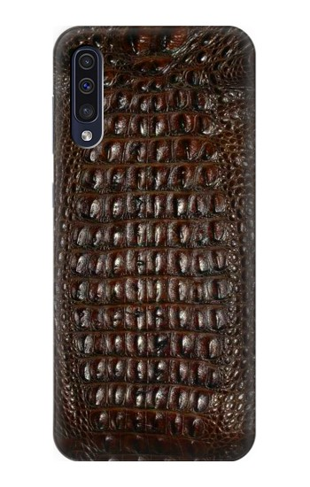 Printed Brown Skin Alligator Graphic Printed Samsung Galaxy A70 Case