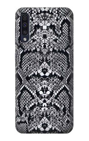 Printed White Rattle Snake Skin Samsung Galaxy A70 Case