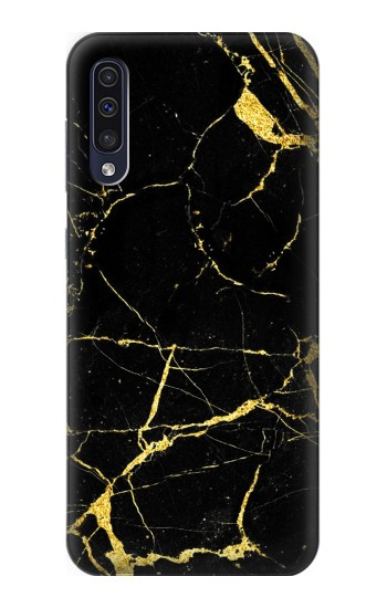 Printed Gold Marble Graphic Printed Samsung Galaxy A70 Case