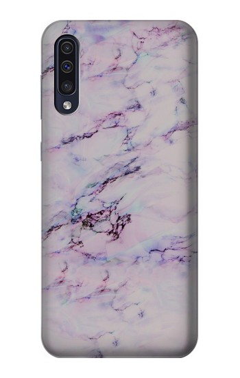 Printed Seamless Pink Marble Samsung Galaxy A70 Case