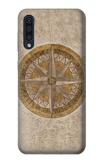 Printed Windrose Circle Stamp Samsung Galaxy A70 Case