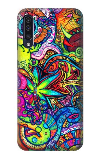 Printed Colorful Art Pattern Samsung Galaxy A70 Case