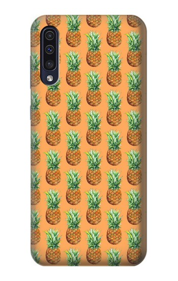 Printed Pineapple Pattern Samsung Galaxy A70 Case