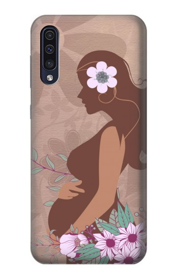 Printed Pregnant Mommy Baby Samsung Galaxy A70 Case