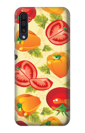 Printed Seamless Food Vegetable Samsung Galaxy A70 Case