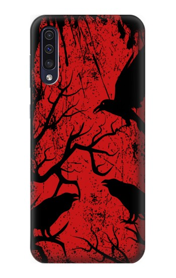 Printed Crow Black Tree Samsung Galaxy A70 Case