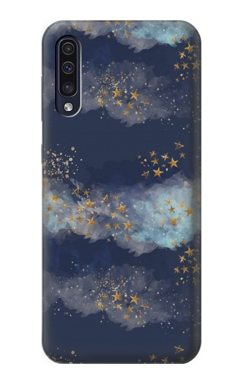 Printed Gold Star Sky Samsung Galaxy A70 Case