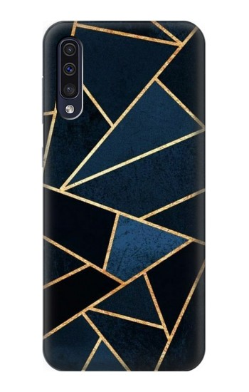 Printed Navy Blue Graphic Art Samsung Galaxy A70 Case