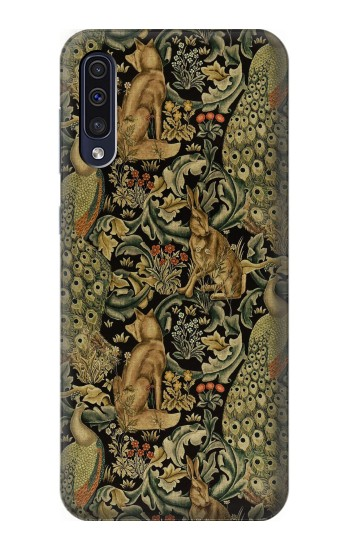 Printed William Morris Forest Velvet Samsung Galaxy A70 Case