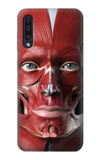 Printed Anatomy of The Face Samsung Galaxy A70 Case