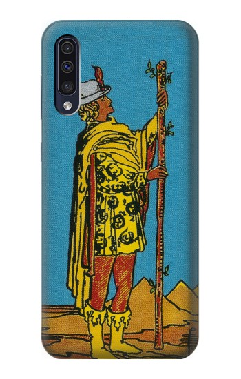 Printed Tarot Card Page of Wands Samsung Galaxy A70 Case