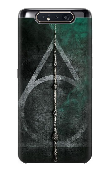 Printed Harry Potter Magic Wand Samsung Galaxy A80 Case