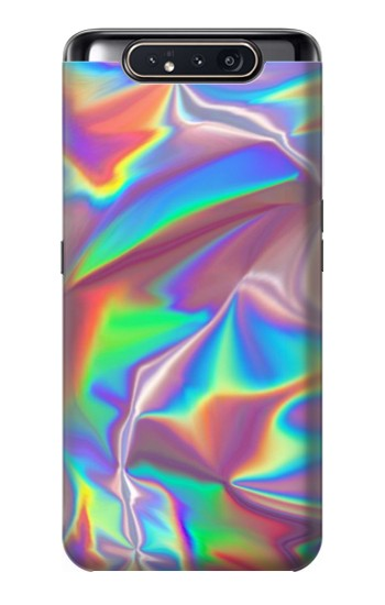 Printed Holographic Photo Printed Samsung Galaxy A80 Case