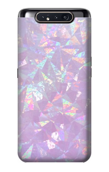 Printed Iridescent Holographic Photo Printed Samsung Galaxy A80 Case