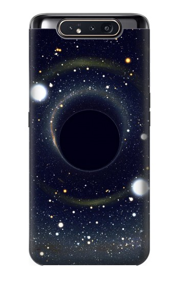 Printed Black Hole Samsung Galaxy A80 Case