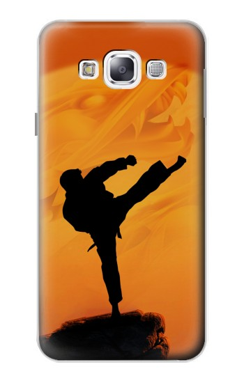 Printed Kung Fu Karate Fighter Samsung Galaxy E5 Case