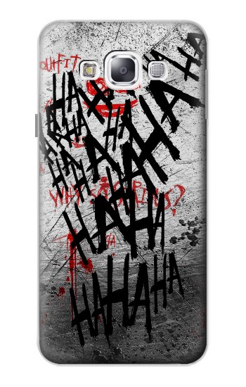 Printed Joker Hahaha Blood Splash Samsung Galaxy E5 Case