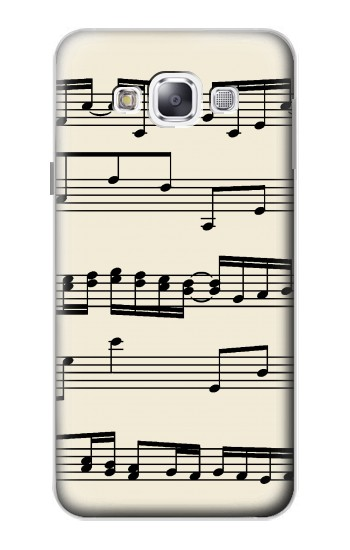 Printed Music Sheet Samsung Galaxy E5 Case