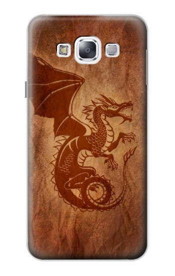 Printed Red Dragon Tattoo Samsung Galaxy E5 Case