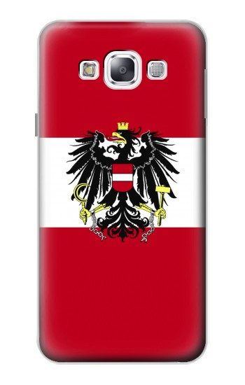 Printed Variant flag of Austria Samsung Galaxy E5 Case