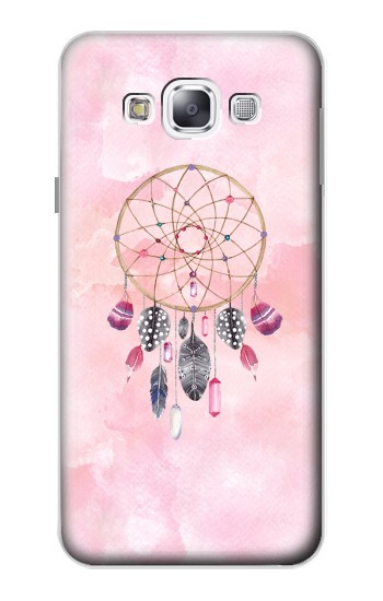 Printed Dreamcatcher Watercolor Painting Samsung Galaxy E5 Case