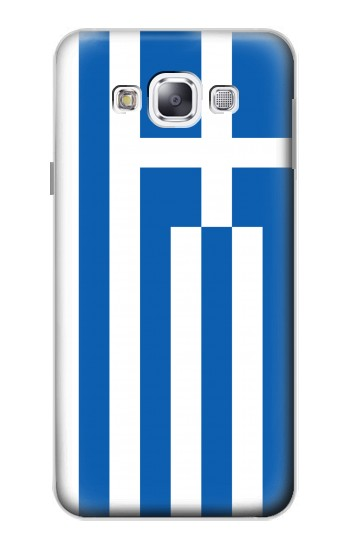 Printed Flag of Greece Samsung Galaxy E5 Case