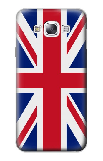 Printed Flag of The United Kingdom Samsung Galaxy E5 Case
