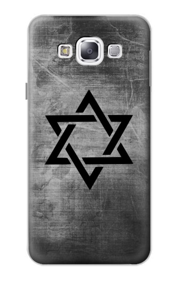 Printed Judaism Star of David Symbol Samsung Galaxy E5 Case