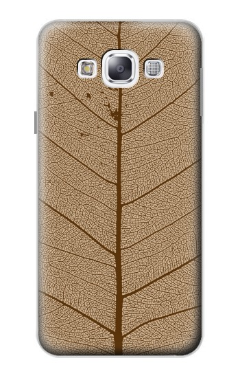 Printed Skeleton Leaf Printed Samsung Galaxy E5 Case
